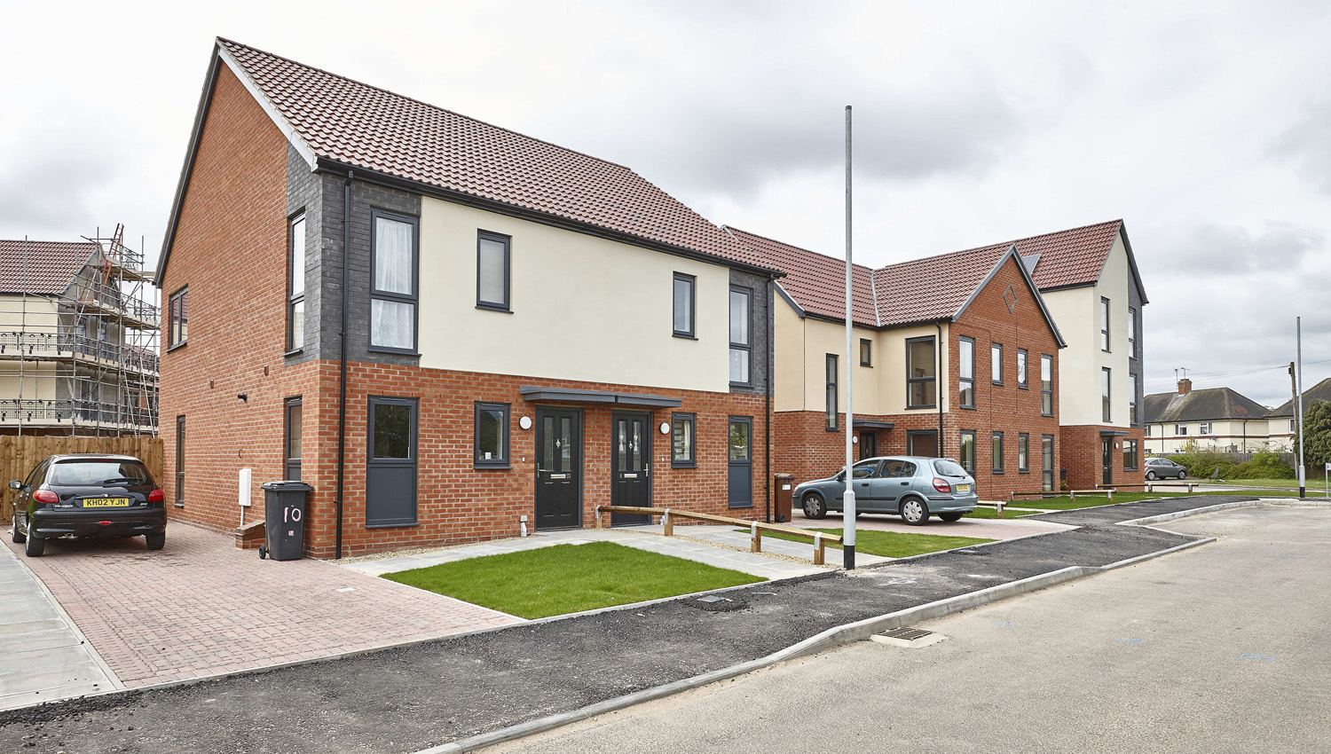 108 new build one, two and four bedroom homes at Bader Close, Ipswich
